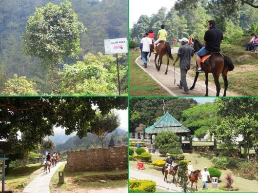Candi Gedhong Songo-jalur kuda