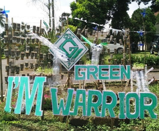 I'm green warrior