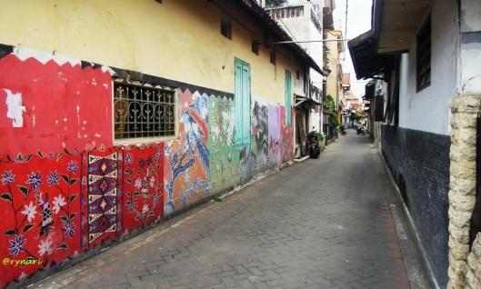 Labirin bisnis Kampoeng Batik Jetis