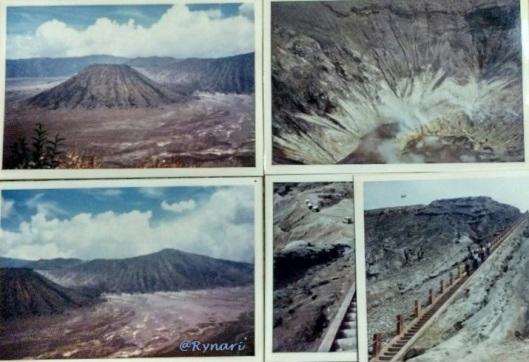 Kaldera Tengger, tangga dan kawah Bromo