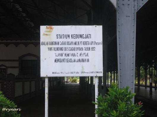 Stasiun Kedungjati-Cagar Budaya