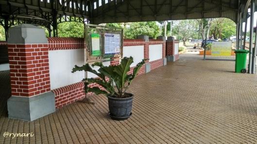Ubin cantik di Stasiun Kedungjati