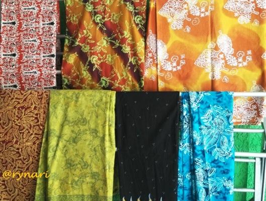 Aneka motif batik Bojonegoro