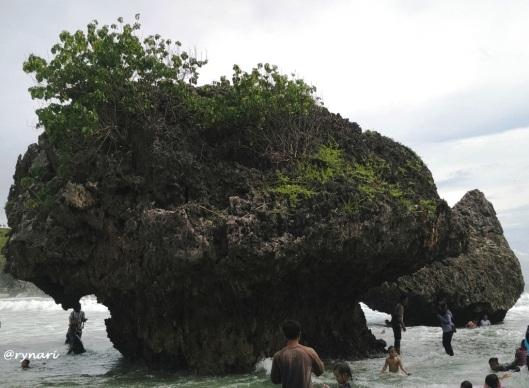 mushroom-like-sea-stack-di-siung-sisi-barat