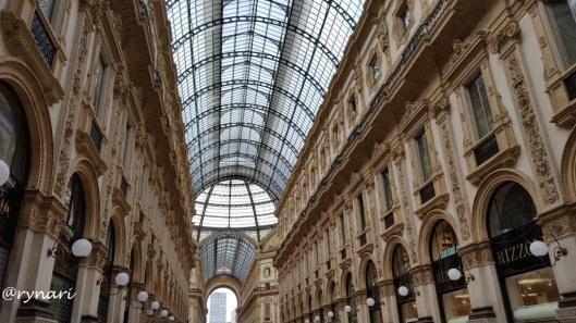 Gallerio Vittorio Emanuele II rumah butik