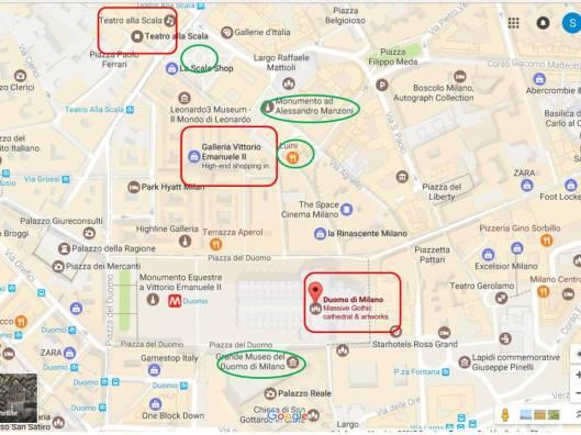 Peta Wisata Milan Kota Lama